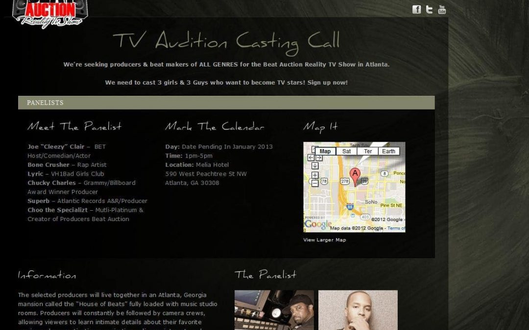 Beat Auction Reality TV