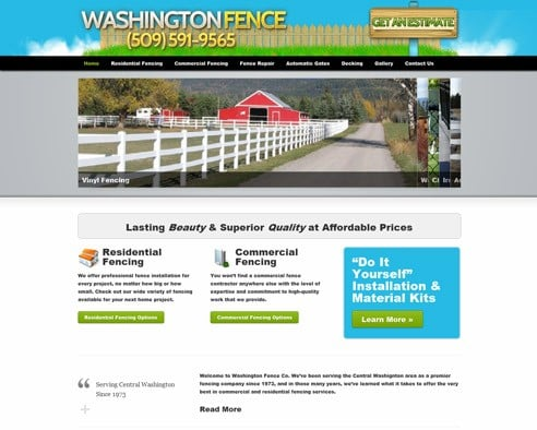 Washington Fence & Idaho Fence