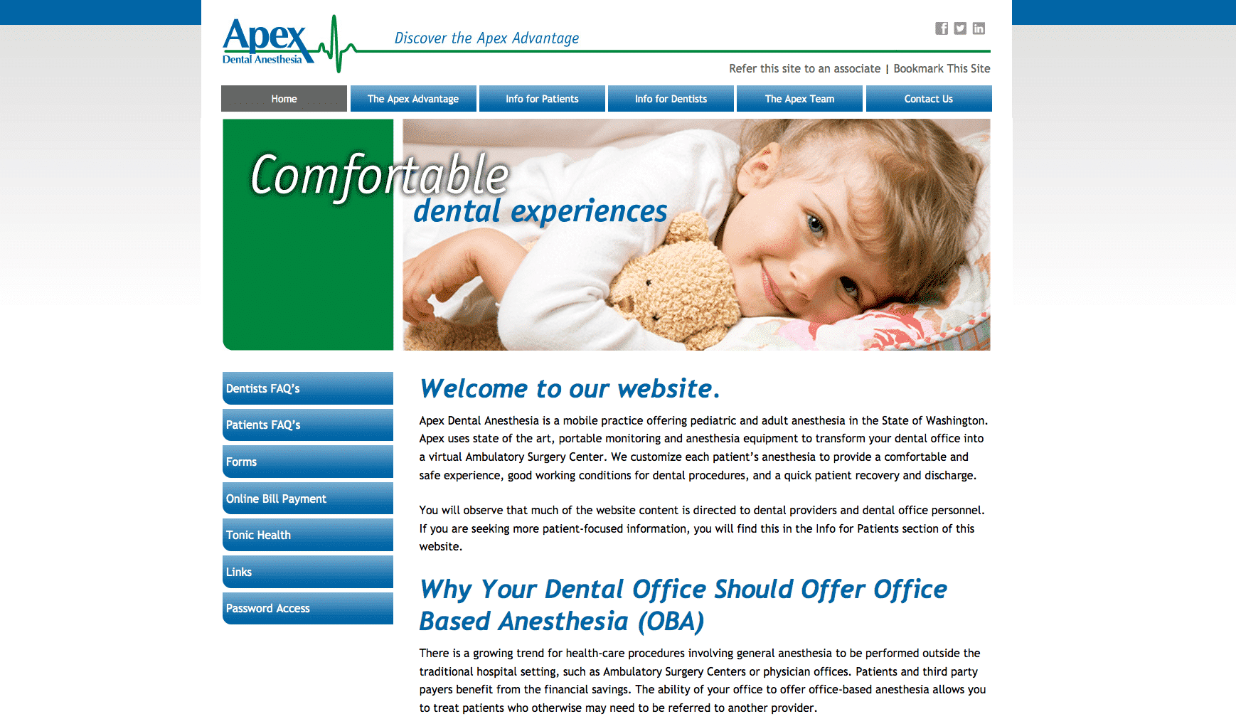 Apex Dental Anesthesia