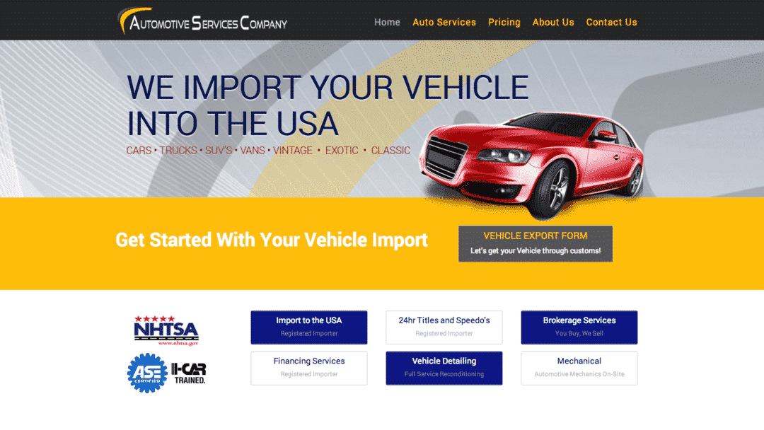Automotive Services Company