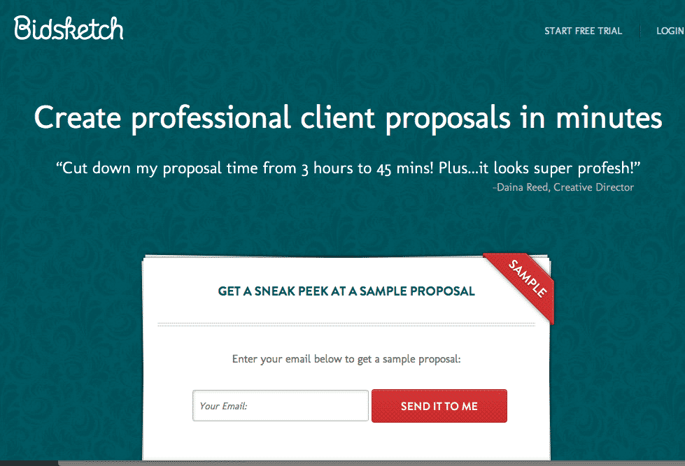 BidSketch Proposal Software Review by a Freelance Web Designer