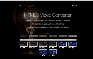 HTML 5 Background Video Converter & Compression Online