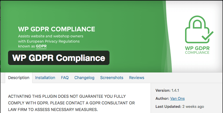 Make Your Website GDPR Compliant in 4 Steps