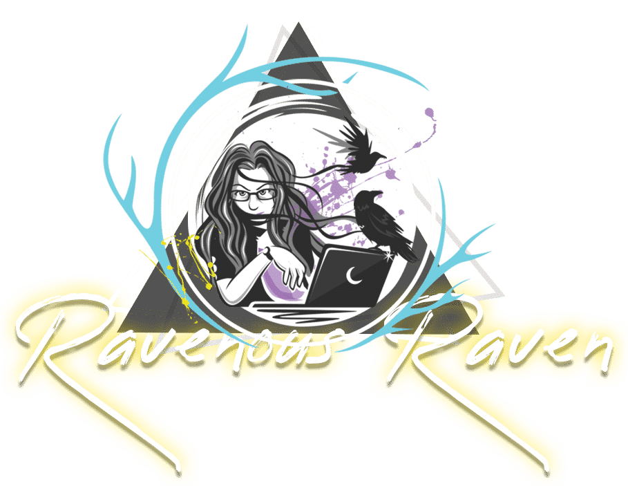 Ravenous Raven Design Logo, Freelance Web Designer in Spokane