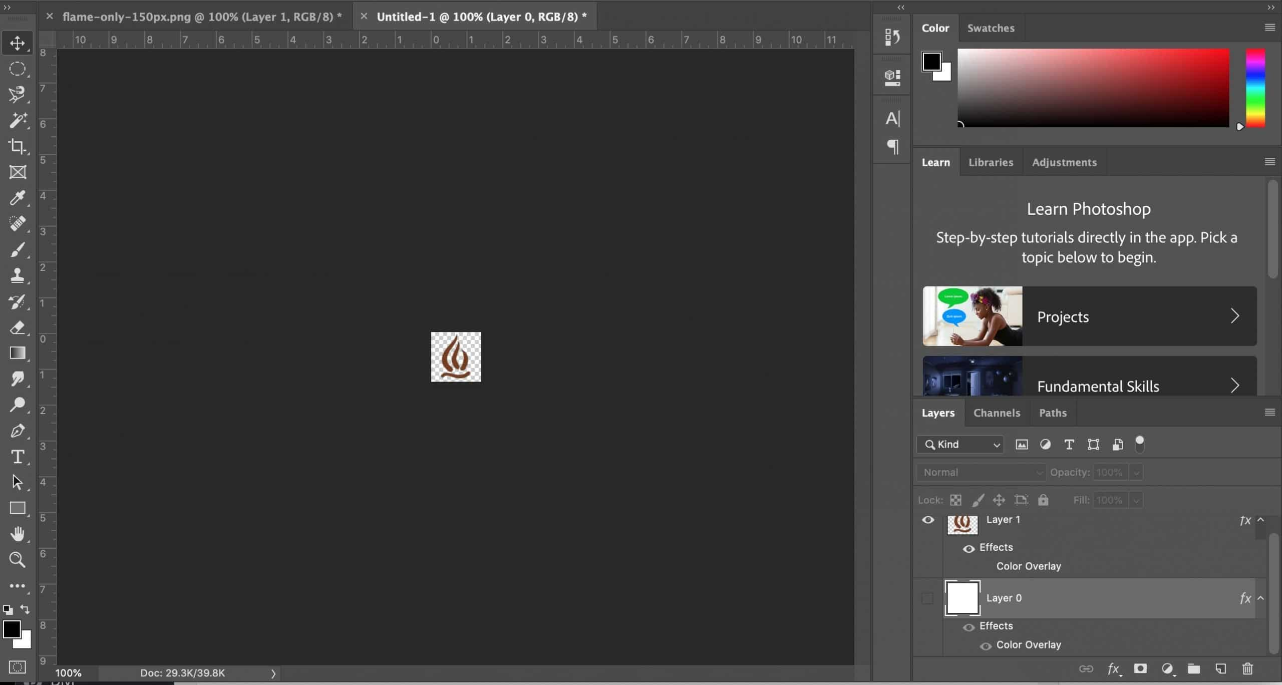 Customizing Image in Photoshop for Divi Social Media Module