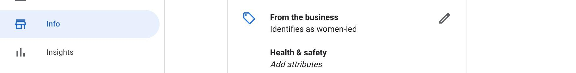 Identify as black owned business in google my business